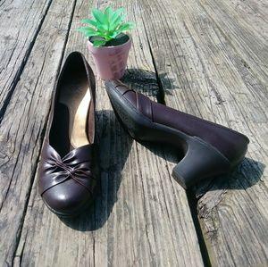 Shoes - Ok! Brown Heel